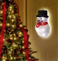 LED-es ablakdekoráció, hóember, elemes, Polarlite LBA-52-006 (LBA-52-006) Polarlite