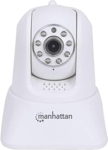 HD Kamerás bébiőr, okostelefon alkalmazással max. 1280 x 720 Manhattan Baby Cam HD 551519
