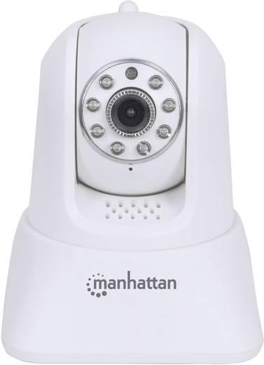 Vezeték nélküli LAN, WLAN HD kamerás bébiőr, okostelefon alkalmazással Manhattan 551496