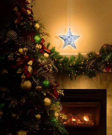 LED-es Ablak dekoráció, csillag, Polarlite LDE-02-011