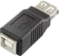 Renkforce USB 2.0 adapter A-hüvely/B-hüvely Renkforce