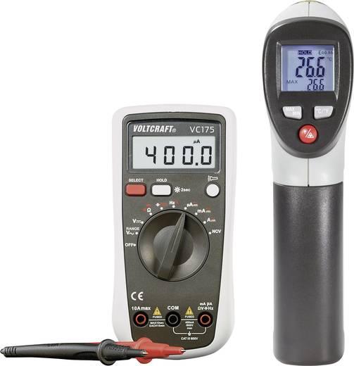 Infra hőmérő IR 260-8S és digitális mumltiméter VC175 készletben