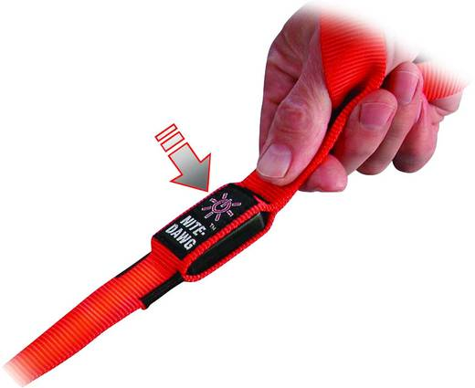 LED-es kutyapóráz, piros, Nite Ize NI-NNL-03-10