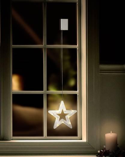 LED-es ablakkép, csillag. Polarlite LBA-50-019