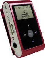 Mp3 lejátszó, belső memória nélkül, Micro SD kártyás, piros színű mpman MP30WOM mpman