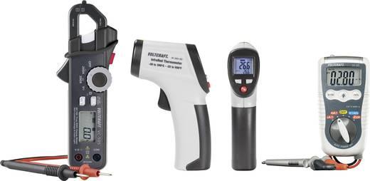 Műszer készlet, digitális multiméter, AC/DC lakatfogó, infrahőmérő Voltcraft DT-200