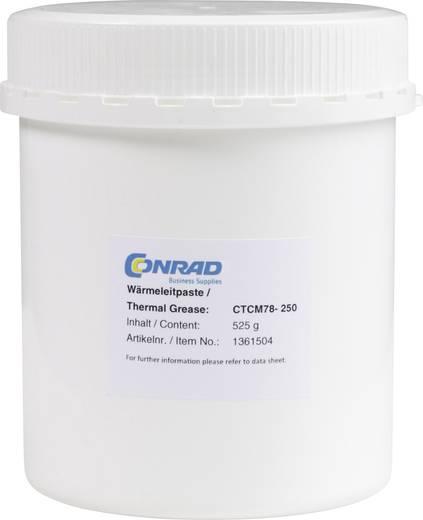 Hővezető paszta 7.8 W/mK 525 g, max. 150°C, Conrad CTCM78-250