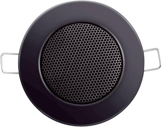 Mennyezetbe építhető hangszóró, 8 Ω 3/6W, fekete színben 206819