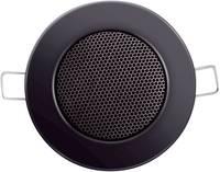 Mennyezetbe építhető hangszóró 8 Ω 3/6W, fekete színben 206819