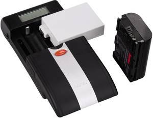 Univerzális kamera akku töltő, Li-Ion, NiMH, Hama Delta Ovum LCD 00081380 (00081380) Hama