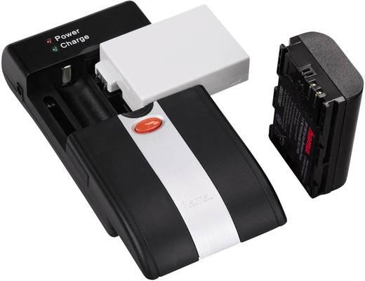 Univerzális kamera akku töltő, Li-Ion, NiMH, Hama Delta Ovum LED 00081370