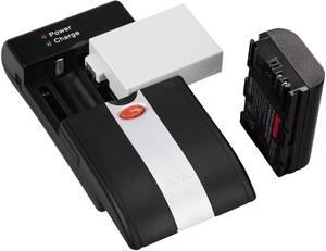 Univerzális kamera akku töltő, Li-Ion, NiMH, Hama Delta Ovum LED 00081370 Hama