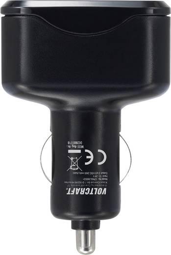 USB-s töltő autóhoz és teherautóhoz, 2 x USB, 2400 mAh, Voltcraft CPAS-2400/2+
