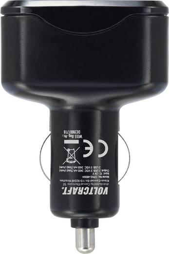 USB-s gépkocsi hálózati töltőadapter, 4 x USB, 4800 mAh, Voltcraft CPAS-4800/4+