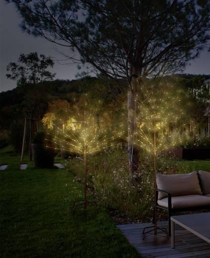 LED-es dekorációs fa, barna, Polarlita PCA-03-003