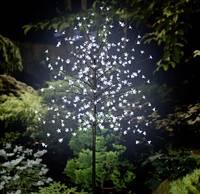 LED-es fa cseresznyevirágokkal, barna, Polarlite PCA-03-003 (PCA-03-003) Polarlite