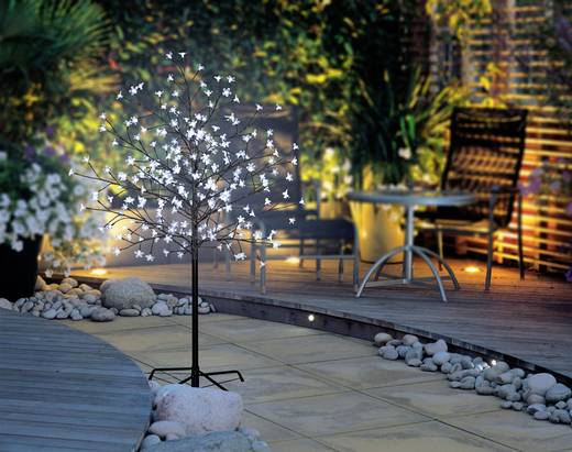 LED-es fa cseresznyevirágokkal, barna, Polarlite PCA-03-005