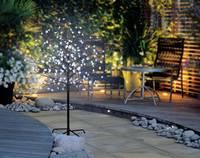 LED-es fa cseresznyevirágokkal, barna, Polarlite PCA-03-005 (PCA-03-005) Polarlite