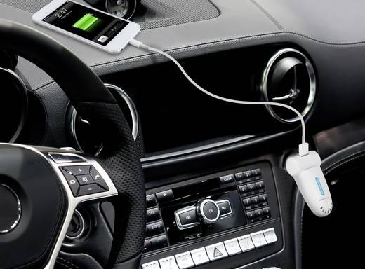 Autós ionizátor, USB csatlakozóval, 12 V