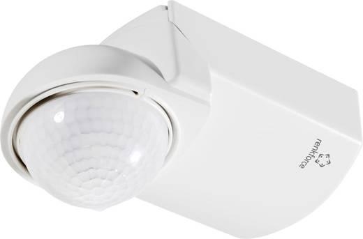 Fali mozgásérzékelő 360°, fehér, relés, IP55, renkforce
