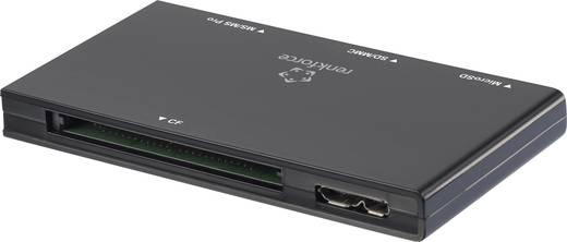 Külső memóriakártya olvasó USB 3.0 fekete, renkforce G-C3311