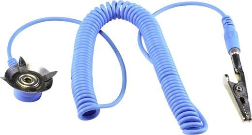 ESD földelő kábel szőnyeghez 1.83 m Tru Components EkA-183-AD-S/K