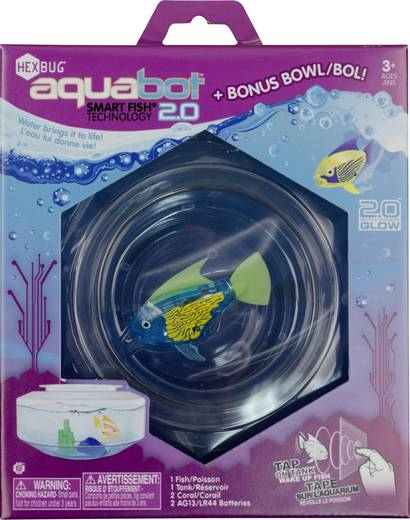 Robothal akváriummal HexBug Aquabot 460-4293
