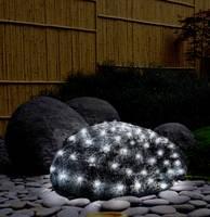Kültéri LED-es fényháló, 200 db LED, 2 x 3 m, 31V, hidegfehér/melegfehér, Polarlite (PNL-02-001) Polarlite