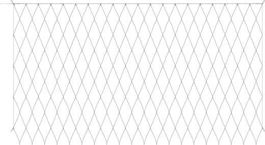 Kültéri fényháló, hidegfehér/melegfehér, 31 V 200 LED, 300 x 200 cm, Polarlite