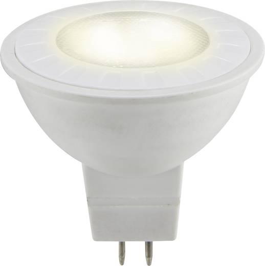 LED izzó, reflektoros, 47 mm 12 V GU5.3 5 W = 35 W melegfehér A+, sygonix
