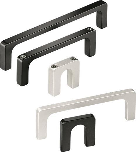 Rohde Profil fogantyú, R3 R3-12.075.04 (H x Sz) 87.5 mm x 12 mm Alumínium Fekete
