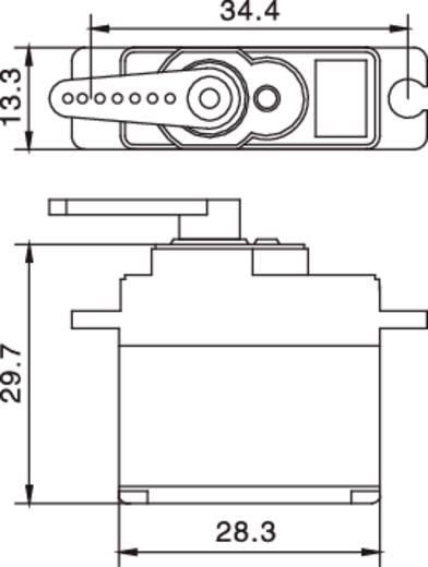 17G analóg szervo S3001 MG