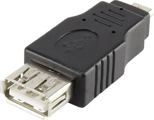 USB 2.0 átalakító, mikro B dugóról A aljra, Renkforce
