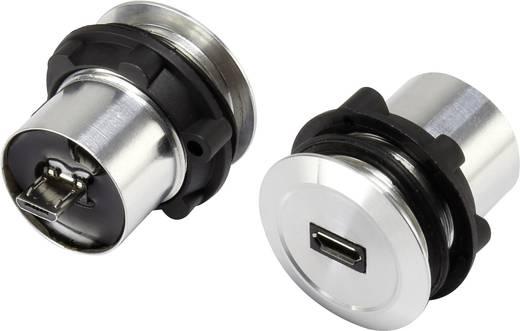 Beépíthető mikro USB aljzat, mikro USB alj – mikro USB dugó, Conrad USB-01