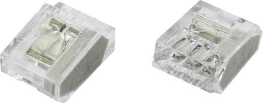 Vezetékösszekötő, 0.25-2.5 mm², 3 pólusú, átlátszó, 25 db, Conrad PC253X-CLG