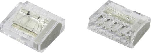 Vezetékösszekötő, 0.25-2.5 mm², 5 pólusú, átlátszó, 25 db, Conrad PC255X-CLG