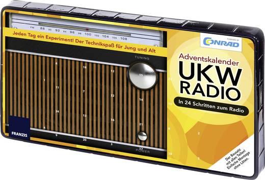 Retro rádió építőkészlet, elektronikai adventi kalendárium, Conrad