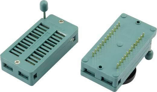 IC tesztfoglalat 22,9x55,5 mm RM 15.24 mm Pólusszám: 32