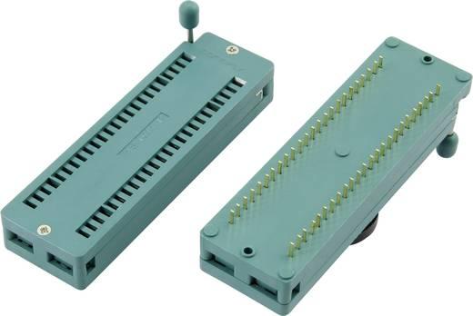 IC tesztfoglalat 14,9x55,5 mm RM 15.24 mm Pólusszám: 32