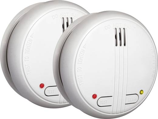 Vezeték nélküli füstjelző készlet, 2 részes, HomeWizard 10.900.46 Smartwares SHS-32000-EU