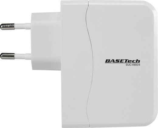 USB-s töltőadapter, 4800 mAh, Basetech SUC-4900/4