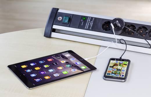 USB-s töltőadapter, 2 x USB, 3400 mAh, Voltcraft SPAS-3400/2