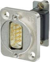 D-SUB adapter D-SUB dugó 15 pólusú - D-SUB alj 9 pólusú, Neutrik (NADB9FF) Neutrik