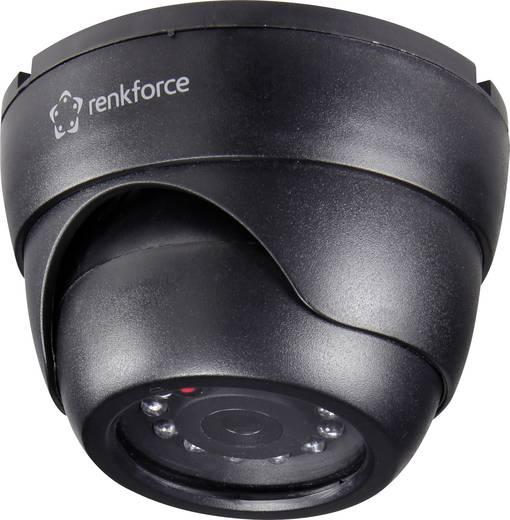 Álkamera infra szimulációval, villogó LED-del, renkforce 1369228