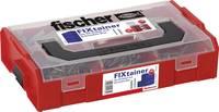 Fischer 532891 FIXtainer - Az SX dübel és csavaros doboz Tartalom 210 rész Fischer