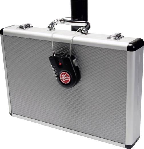 Riasztós mini lakat, szirénával 85 mm, Lock Alarm 2770csa