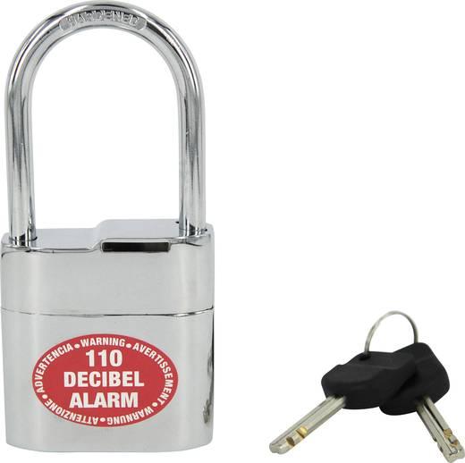Kábelzár szirénával, 60 mm, Lock Alarm 2104