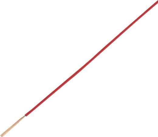 Jármű vezeték FLRY-A 1 x 1,5 mm² piros, Conrad 93030c323 50 m