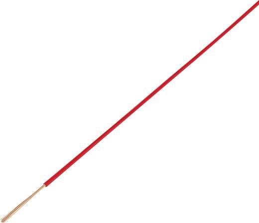 Jármű vezeték FLRY-A 1 x 0,5 mm² piros, Conrad 93030c290 50 m