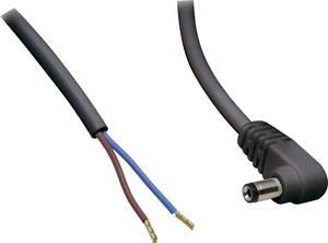 BKL Electronic-Kisfeszültségű csatlakozóvezetékKisfeszültségű dugóKábel, nyitott végekkel BKL Electronic